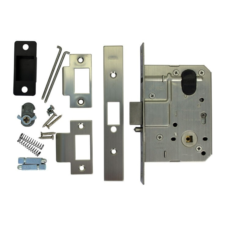 Ambulant Disabled Toilet Door Privacy Pack LH w// Accessible Hinge /& Latch AS1428