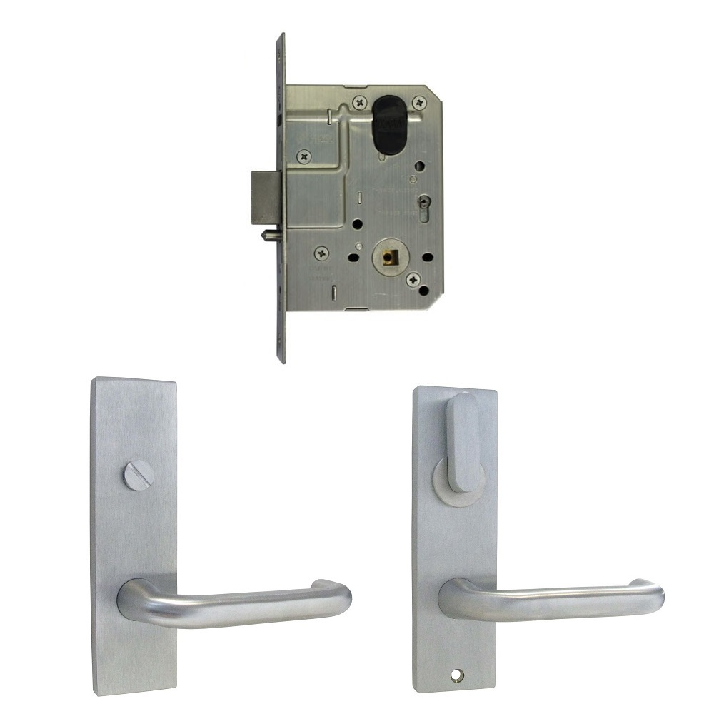 Kaba Disabled Toilet Door Pack Ms2 Lock Square Plate Turn
