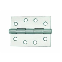 60x Legge Broad Butt Door Hinge 13221 100x75x2.5mm Fixed Pin 304 Stainless Steel