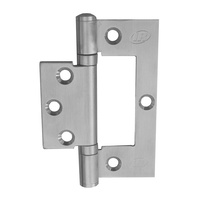 Legge DAX13225SSST1FP Fast Fix Door Hinge 100x70x2.5mm Ball Bearing Fixed Pin Metal SS