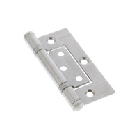 20x Legge Fast Fix Door Hinge 13225 100x70x2.5mm Ball Bearing Fix Pin Timber SS