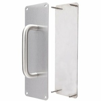 Legge Door Pull Handle Push Plate Combo DAXPH100COMBOSSS-15 300x65x2mm SSS