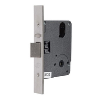 Legge Mortice Door Lock L9MFS 60mm Backset Fire Rated Satin Chrome