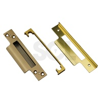 Asec Rebate Kit AS1079 13mm Polished Brass To Suit Sashlock