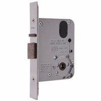Lockwood 3572SC Door Lock Mortice Synergy Vestibule 60mm Backset Satin Chrome