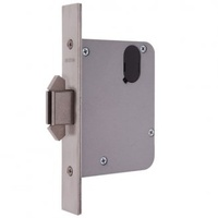 Lockwood 3573SC Mortice Sliding Door Primary Lock Satin Chrome
