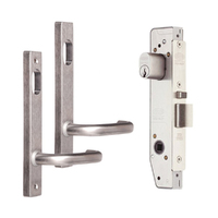 Lockwood 3782 Narrow Double Cyl Mortice Lock Kit Inc Levers Cylinder 3782KIT01