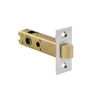 Lockwood 52601SFTSC Tubular Latch Satin Chrome 2 Hour Fire Rated Inc Spindle