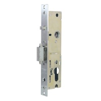 Lockwood OP301SDNSS Optimum Sliding Door Mortice Lock 30mm Backset *LOCK ONLY*