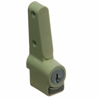 Whitco W2201319C4 Sliding Window Push Lock Primrose