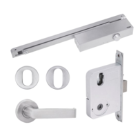 Yale YSK/S1TSS Simplicity Series Door Kits Mortice Lock S1 Lever Set with Turn