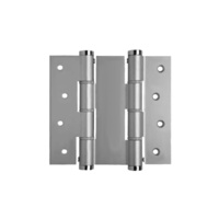Bellevue Justor Double Action Spring Door Hinge BIDA120AS Anodized Silver 120mm