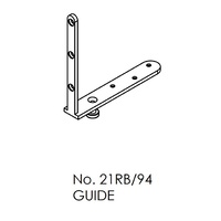 Brio 21RB94 94 Series Guide Stainless Steel Angle Plate and Precision Bearing
