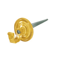 Delf Picture Hook 0505PB 40mm Drive In Polished Brass