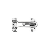 DELF 1910SC Security Door Guard Satin Chrome