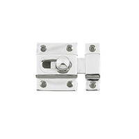 Delf 1975C Baby Latch Chrome Plate