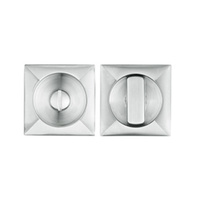 Delf Door Flush Privacy Assembly 70205SS 58mm Square Satin Stainless Steel