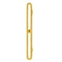 Delf Window Operator Attachment 7150APB 205x20mm Outward Opening Polished Brass