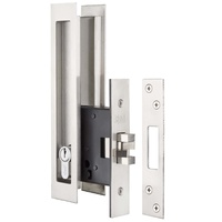 Delf Cavity Sliding Door Entrance Set 9056SS Stainless Steel