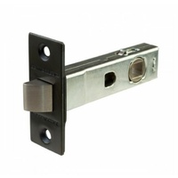 Dorma 2202 Tubular Latch Through Fix Matte Black 60mm