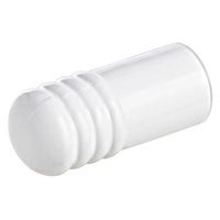 Emro Door Stop DSC75W Wall Mounted 75mm Plastic Cushion White