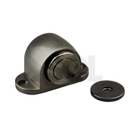 Emro Door Stop 50016 Magnetic Floor Mounted Satin Zinc Alloy