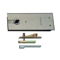 Hafele Floor Spring Door Closer 932.79.141 DCL 301 Non Hold Open Double Action