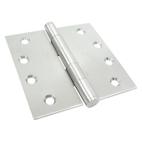 20x Kaba Door Hinge KH100/100FPSSS 100x100x2.5mm Stainless Steel Fixed Pin