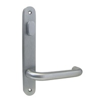 Kaba Door Handle N113V-25SCP N100 Narrow Style Plate w/ Turn & 25 Lever