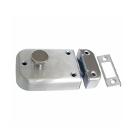 Kaba NL550SSS Door Lock Night Latch Fire Rated Satin Stainless Steel