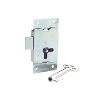 RiteFit CLB Cupboard Drawer Lock Straight Includes 1 Key