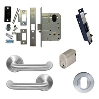 Kaba Storeroom Door Pack MS2 Mortice Lock w/ Cylinder Lever Electric Strike