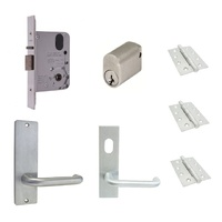 Lockwood Classroom Door Pack 3572 Mortice Lock w/ Kaba Handles & Hinges