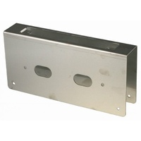 BDS Wrap Around Plate 09351123 230x110mm SSS 60mm Backset To Suit Mortice Lock