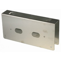 BDS Wrap Around Plate 09351124 230x110mm SSS 60mm Backset To Suit Mortice Lock