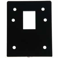 BDS Packer Packing Plate 09351155 10mm To Suit Lockwood 001 Deadlatch Black