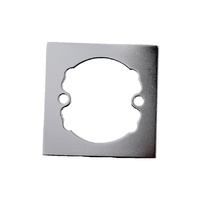Nidus Spacer Rings MSQSPACERCP Square Polished Chrome For Door Handle *PAIR*