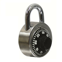 100x Vinco Combination Padlock VC48R-ASM Hardened Steel Anti Pick 3-Digit