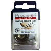 FD WBY PLS24PRO Concealed Magnetic Catch Timber/Timber Stainless Steel Precision