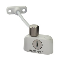 Remsafe RL002-SSK1WHT Window Restrictor Safety Device Child Safe White 125mm