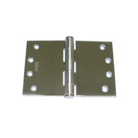 Scope DHW112FSS Wide Throw Door Hinge 100x300x3.5mm Fixed Pin Stainless Steel
