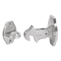 Out of Stock: ETA September - Scope DS110 Hook Auto Door Holder Wall Satin Chrome