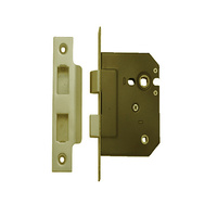 Superior Brass 19062 3 Lever Bathroom Lock PVD 45mm