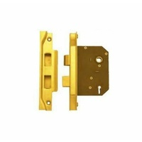 Superior Brass 29048 3 Lever Rebated Sash Lock Antique Copper 60mm