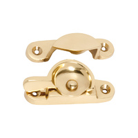 Tradco 1600PB Sash Fastener Polished Brass