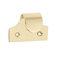 Tradco 1631PB Sash Lift Plain Polished Brass
