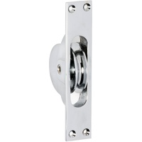 Tradco 1682CP Sash Pulley Polished Chrome 25x125mm