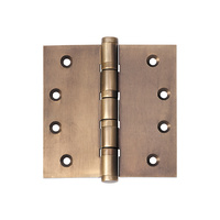 Tradco 2364AB Hinge Ball Bearing Antique Brass 100x100mm