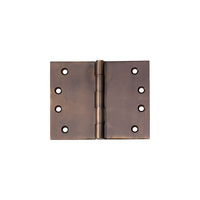 Tradco 2390AB Hinge Broad Butt Antique Brass 100x125mm