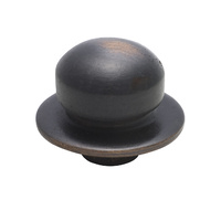 Tradco 5404AC Dimmer Knob Antique Copper
